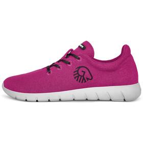 Giesswein Merino Wool Chaussures de running Femme, grape